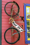 Loja da bicicleta foto de stock
