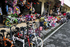 Loja da bicicleta Imagens de Stock Royalty Free