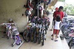 Loja da bicicleta Imagem de Stock