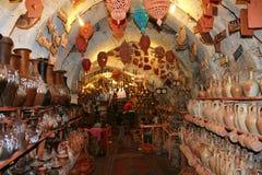 Loja da cerâmica fotos de stock