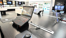 Loja da experiência de Alienware Foto de Stock