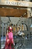 Loja da forma de Roberto Cavalli em Italia Fotos de Stock Royalty Free