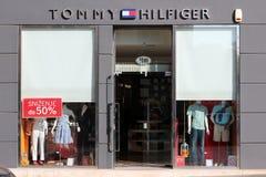 Loja da forma de Tommy Hilfiger imagem de stock