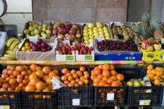 Loja da fruta imagens de stock