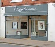 Loja da galeria de arte de Chappell Fotografia de Stock