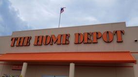 A loja da melhoria de casa de Home Depot vídeos de arquivo