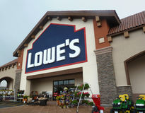 Loja da melhoria Home de Lowe Foto de Stock Royalty Free