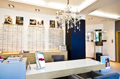 Loja da optometria Fotografia de Stock