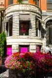 Loja da pá de Kate na rua de Newbury, Boston, miliampère. Foto de Stock Royalty Free