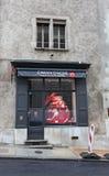 Loja da pena de Caran D'Ache em Genebra, Suíça imagem de stock royalty free