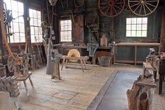 Loja da roda do carro do Victorian Imagem de Stock