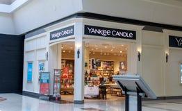 Loja da vela do ianque em Washington Square, shopping em Portland imagens de stock royalty free