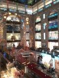 A loja das crianças centrais em Moscou Imagem de Stock Royalty Free