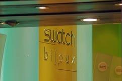 Loja das joias do Swatch Imagens de Stock Royalty Free