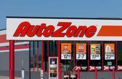 Loja das peças do carro de Uto Zone imagem de stock
