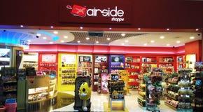 Loja de Airside imagens de stock