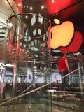 Loja de Apple em Hong Kong fotos de stock royalty free