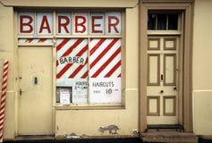 Loja de barbeiro foto de stock royalty free