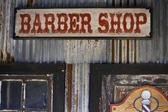 Loja de barbeiro Foto de Stock