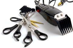 Loja de barbeiro Imagens de Stock