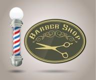 Loja de barbeiro Pólo Imagens de Stock