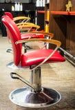 Loja de barbeiro velha fotografia de stock royalty free