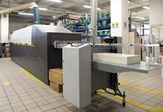 Loja de cópias - máquina de impressão da imprensa de Digitas fotografia de stock royalty free