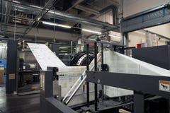 Loja de cópias & x28; pressione o printing& x29; - Linha de revestimento Imagem de Stock Royalty Free