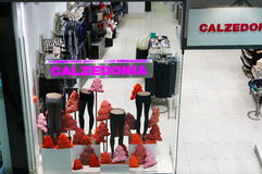 Loja de Calzedonia Imagens de Stock Royalty Free