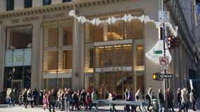 Loja de capitânia de Bulgari na 5a avenida em New York Foto de Stock Royalty Free