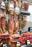 Loja de carniceiros Foto de Stock