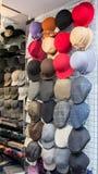 Loja de chapéu Fotografia de Stock Royalty Free