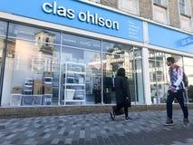 Loja de Clas Ohlson imagem de stock royalty free