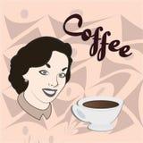 Loja de Coffe Imagem de Stock