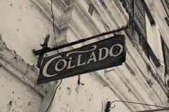 Loja de Collado, Vigan, Filipinas Fotos de Stock