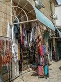Loja de comércio em jerusalem Fotos de Stock