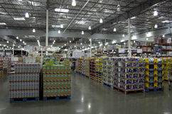Loja de Costco Foto de Stock Royalty Free