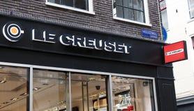 Loja de Creuset em Amsterdão Imagens de Stock