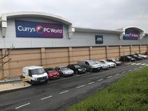 Loja de Currys PC World imagem de stock royalty free