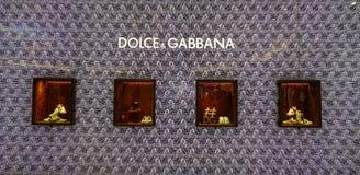 Loja de Dolce e de Gabbana fotografia de stock