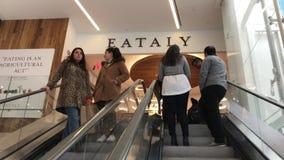 Loja de Eataly em Manhattan video estoque