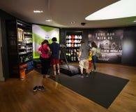 Loja de fato atlética de Niketown em NYC Fotografia de Stock Royalty Free