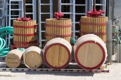 Loja de ferragem, Argostoli, Kefalonia, setembro 2006 Imagem de Stock