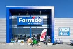 Loja de Formido em Vierspolders, Países Baixos imagem de stock royalty free