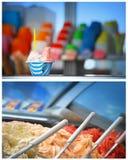 Loja de gelado Fotos de Stock Royalty Free