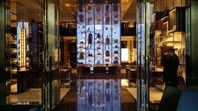 Loja de Gucci em Beverly Hills Ca Foto de Stock Royalty Free