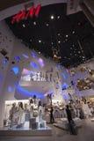 A loja de H&M no fórum compra no Caesars Palace Imagem de Stock