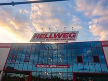 Loja de Hellweg fotos de stock royalty free