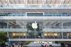 Loja de Hong Kong Apple Fotos de Stock