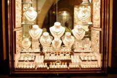 Loja de jóia fotografia de stock